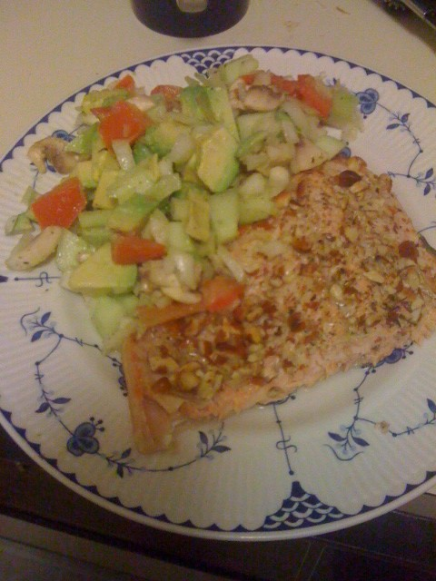 Salmon…..yummy