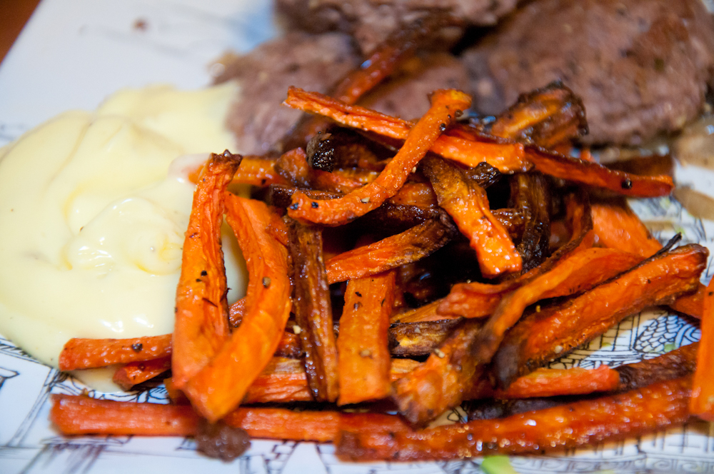 Roasted Carrot {Fries}