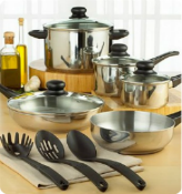 Stainless Steel Cookware Set – Macy's One Day Sale!