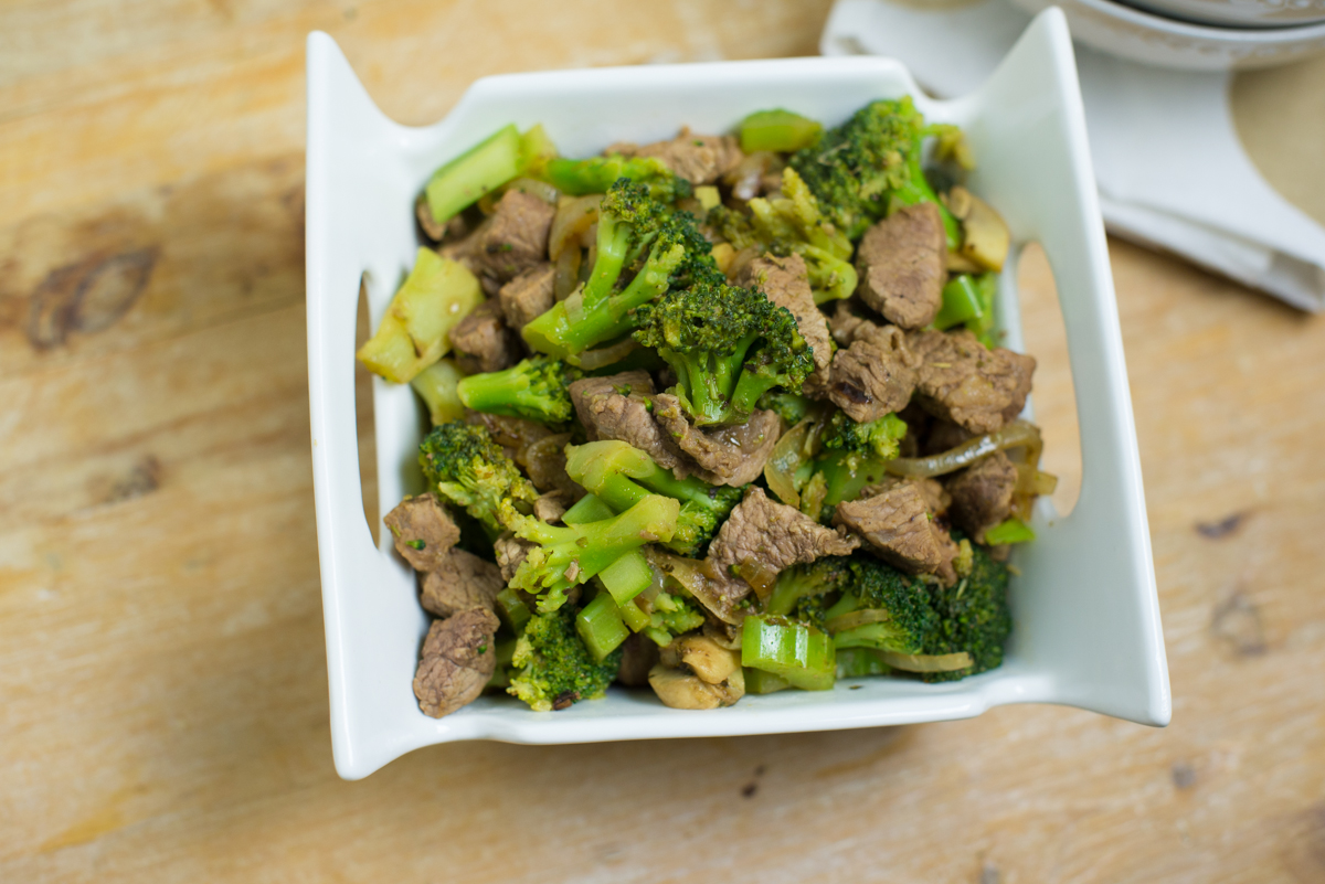 Beef + Broccoli |Egg, Nut + Dairy Free