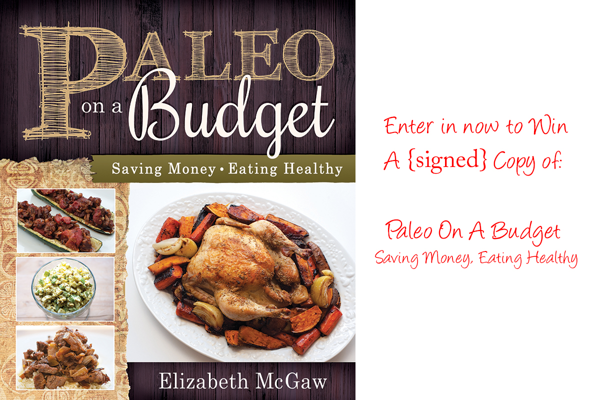 Paleo On A Budget Book Giveaway