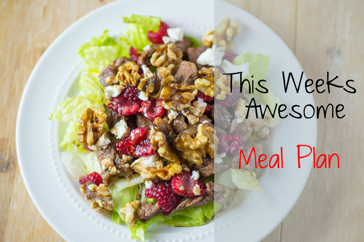 Paleo Weekly Meal Plan {Week of 2/2/15}
