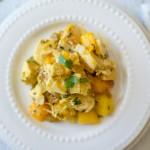 Mango Lime Chicken | paleoonabudget.com