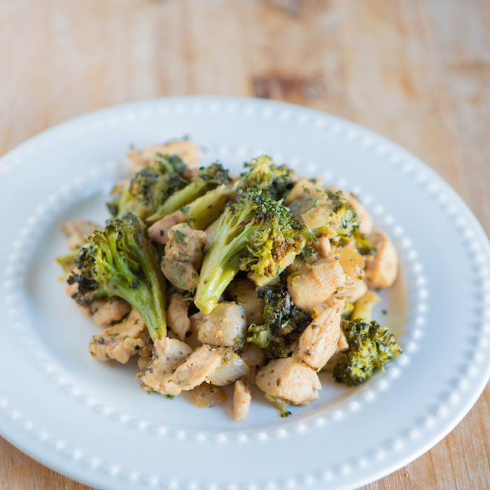 Sneak Peek Recipe: Lemon, Chicken + Broccoli