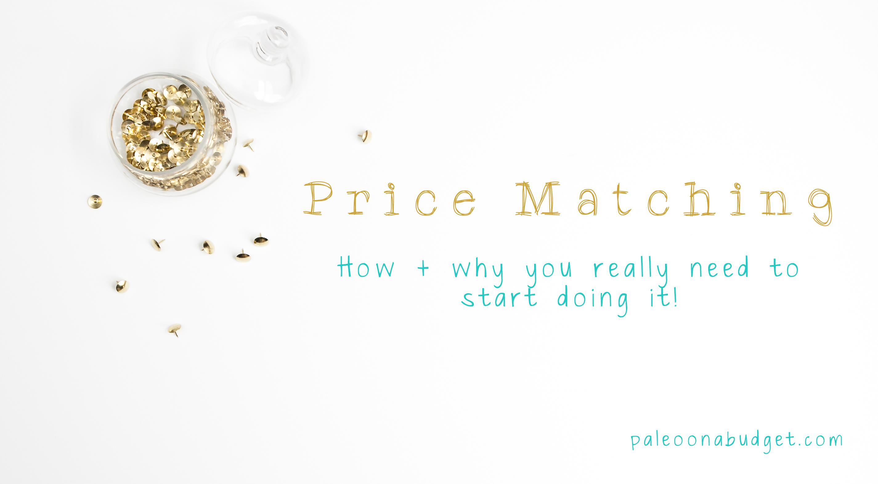 Let's talk Price Matching!