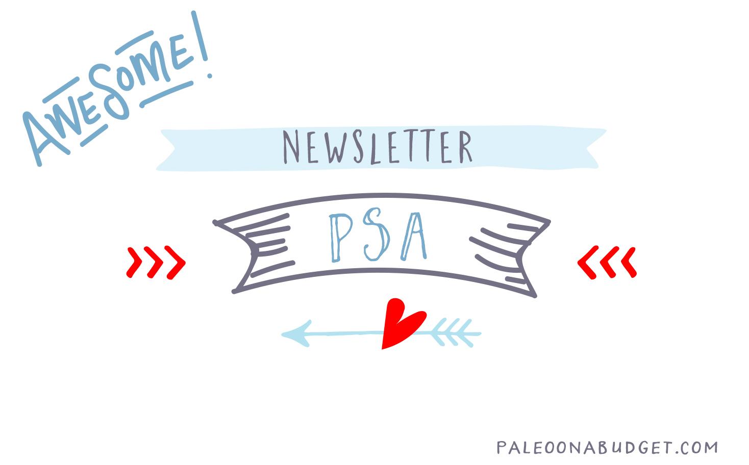 POAB Newsletter: PSA