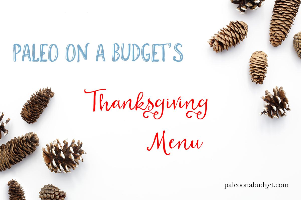 Paleo On A Budget Thanksgiving 2015 Menu | paleoonabudget.com