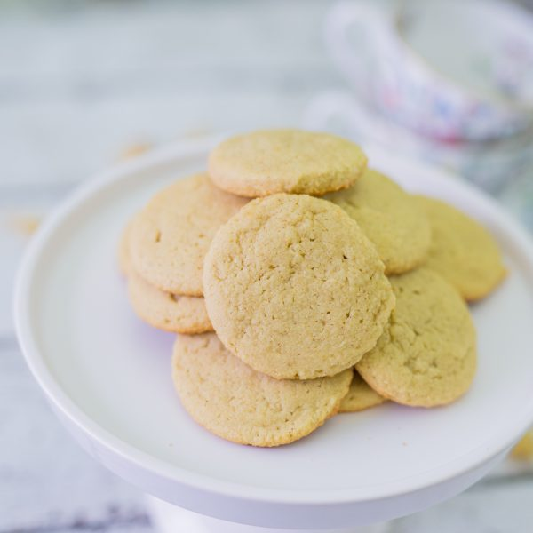 Super Easy Maple Vanilla Cookies | Paleo + Gluten Free Cookies