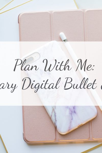 Plan With Me | February Digital Bullet Journal | Paleo On A Budget