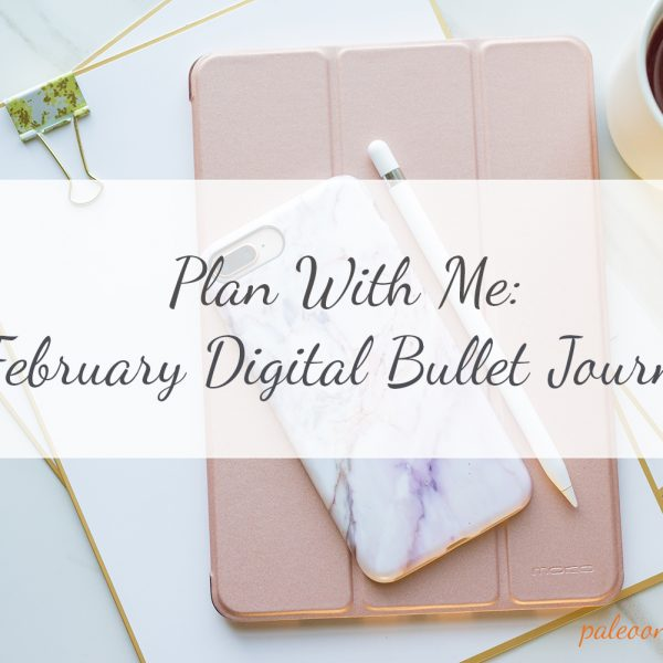 Plan With Me | February 2018 Digital Bullet Journal